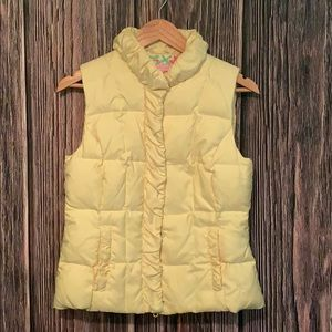 Lilly Pulitzer yellow vest